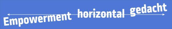 """Animation zur Fortbildung """"Empowerment horizontal gedacht"""""""